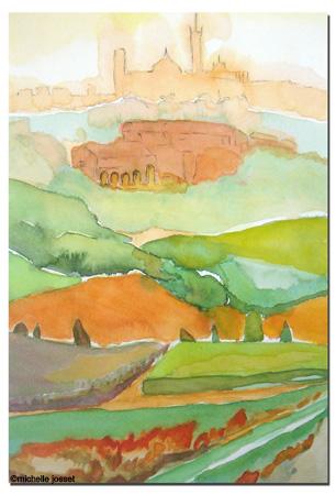 Italie vert-orange