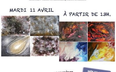 Stage peinture intuitive Chaos Mars 2017