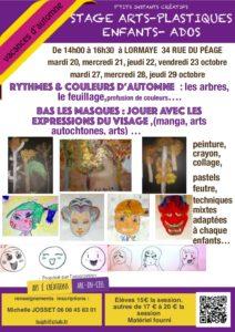 Stage arts-plastiques Enfants-Ados @ Lormaye 28210 | Lormaye | Centre-Val de Loire | France